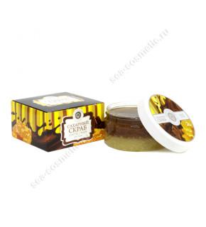 Сахарный Скраб Шоколад с Мёдом 300 г