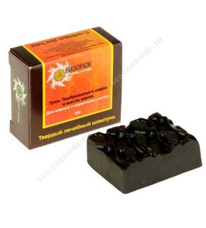 Шампунь твердый с тамбуканской грязью и маслом какао, 30 г