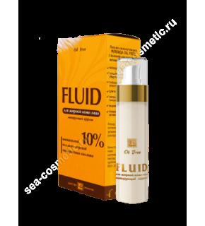 FLUID Матирующий эффект для жирной кожи лица, 30г